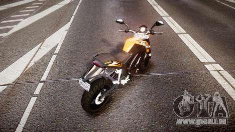 KTM 125 Duke für GTA 4 hinten links Ansicht