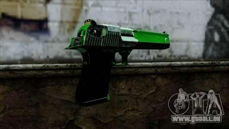 Desert Eagle Pakistan pour GTA San Andreas deuxième écran