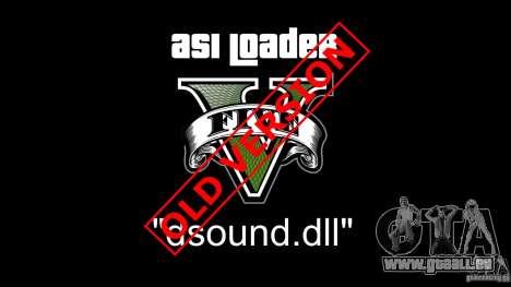 GTA 5 Asi Loader V deuxième capture d'écran