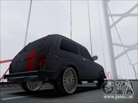 Lada Niva für GTA San Andreas rechten Ansicht