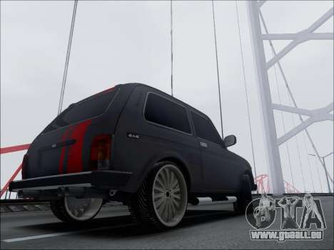 Lada Niva pour GTA San Andreas vue de droite