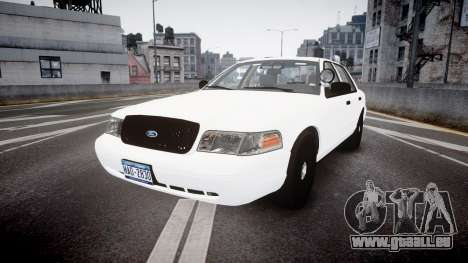 Ford Crown Victoria LCPD Unmarked [ELS] pour GTA 4