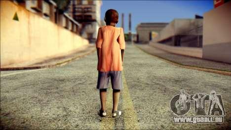 Madison Child Skin für GTA San Andreas zweiten Screenshot