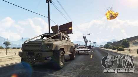 GTA 5 Control Heist Vehicles Solo v1.3 vierten Screenshot