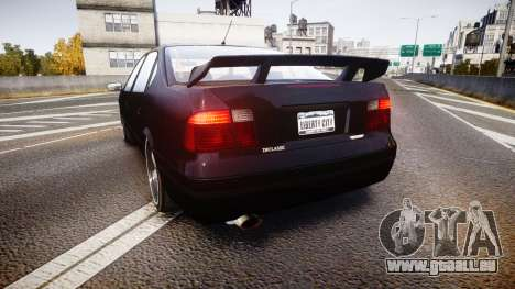 Declasse Merit GTO pour GTA 4 Vue arrière de la gauche