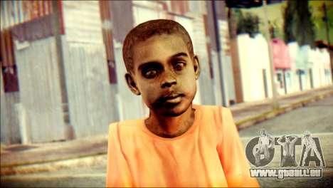 Madison Child Skin für GTA San Andreas dritten Screenshot
