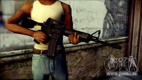 Rumble 6 Assault Rifle für GTA San Andreas dritten Screenshot