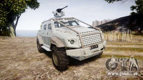 GTA V HVY Insurgent Pick-Up pour GTA 4