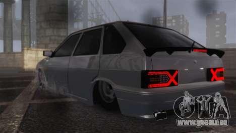 2114 pour GTA 4 Vue arrière de la gauche