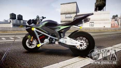 Honda CBR600RR Stunt für GTA 4 linke Ansicht