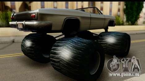 Monster Blade pour GTA San Andreas laissé vue