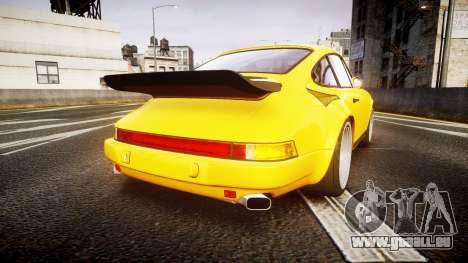 RUF CTR Yellow Bird für GTA 4 hinten links Ansicht