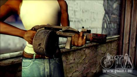 Rumble 6 Combat Shotgun für GTA San Andreas dritten Screenshot