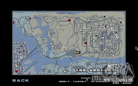 GTA 5 Map Mod v1.3 für GTA San Andreas zweiten Screenshot