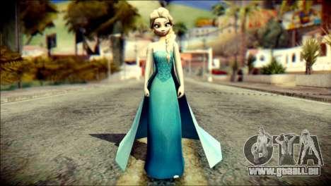 Frozen Elsa v2 für GTA San Andreas