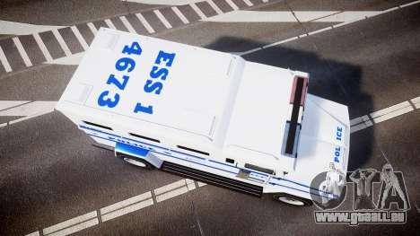 GTA V Brute Police Riot [ELS] skin 4 für GTA 4 rechte Ansicht