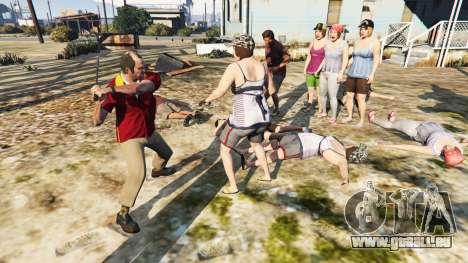 GTA 5 Hostile Pedy troisième capture d'écran