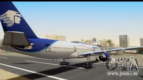 Boeing 777-200ER AeroMexico für GTA San Andreas linke Ansicht