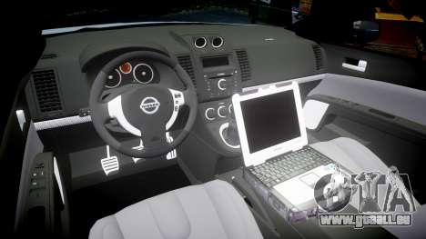 Nissan Altima Hybrid NYPD für GTA 4 Innenansicht