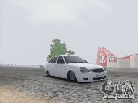 Lada Priora Hatchback pour GTA San Andreas