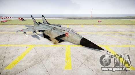 Le MiG-25 pour GTA 4