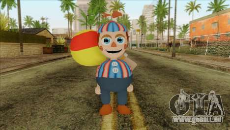 Balloon Boy from Five Nights at Freddys 2 pour GTA San Andreas