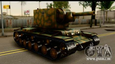 KV-2 German Captured pour GTA San Andreas