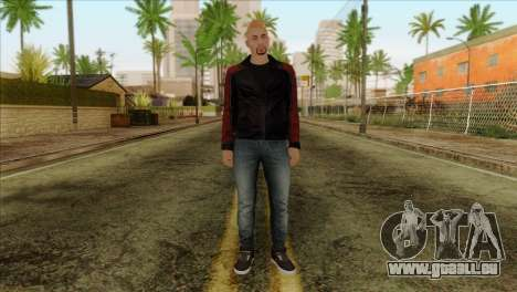 Skin 4 from Heists GTA Online DLC für GTA San Andreas