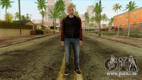 Skin 4 from Heists GTA Online DLC für GTA San Andreas