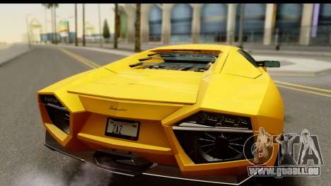 Lamborghini Reventon 2008 pour GTA San Andreas vue de droite