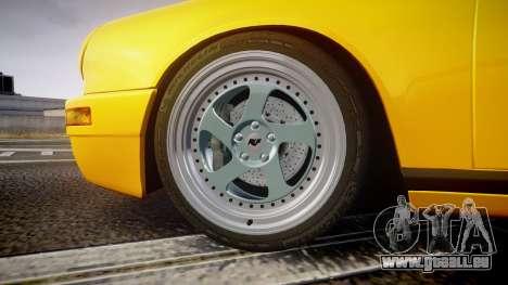 RUF CTR Yellow Bird für GTA 4 Rückansicht
