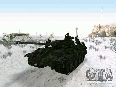 Panther pour GTA San Andreas laissé vue