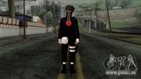 Naruto Black Skin für GTA San Andreas zweiten Screenshot
