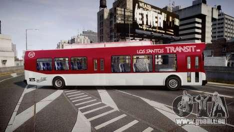GTA V Brute Bus für GTA 4 linke Ansicht