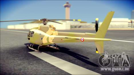 Esquilo 350 Fuerza Aerea Paraguaya für GTA San Andreas linke Ansicht