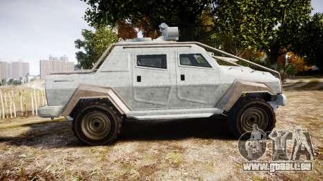 GTA V HVY Insurgent Pick-Up für GTA 4 linke Ansicht