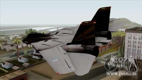 Grumman F-14B VF-193 Lions pour GTA San Andreas laissé vue