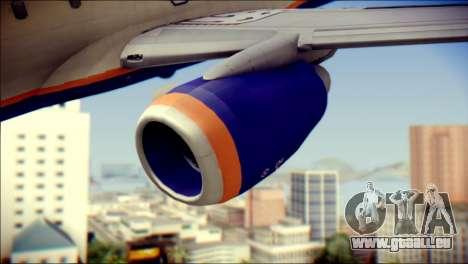 Boeing 737-800 Aeroflot pour GTA San Andreas vue de droite