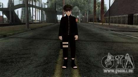 Naruto Black Skin für GTA San Andreas