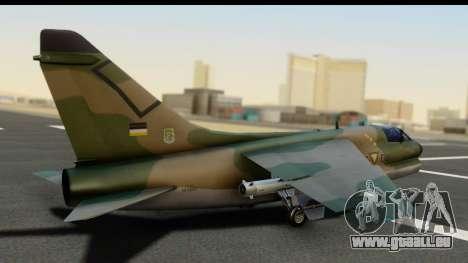 Ling-Temco-Vought A-7 Corsair 2 Belkan Air Force für GTA San Andreas linke Ansicht