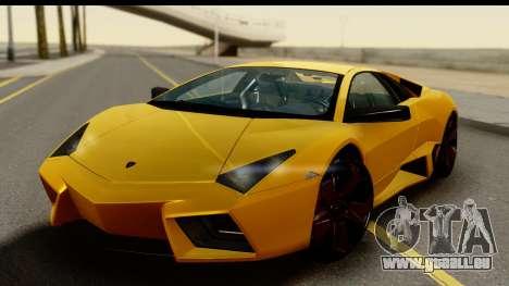 Lamborghini Reventon 2008 für GTA San Andreas