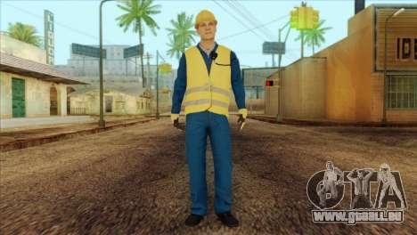 Takedown Redsabre NPC Shipworker v1 pour GTA San Andreas