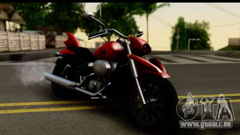 Honda Shadow 750 für GTA San Andreas