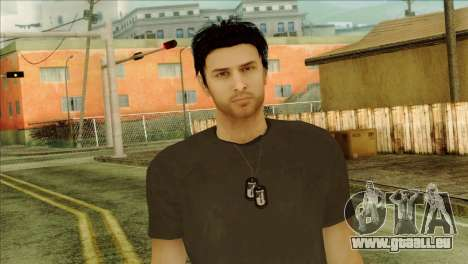 Young Alex Shepherd Skin without Flashlight für GTA San Andreas dritten Screenshot