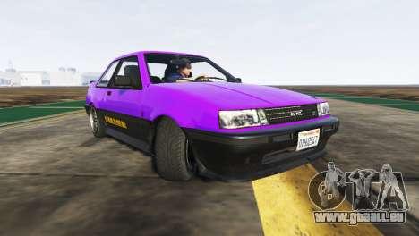 GTA 5 La dérive troisième capture d'écran