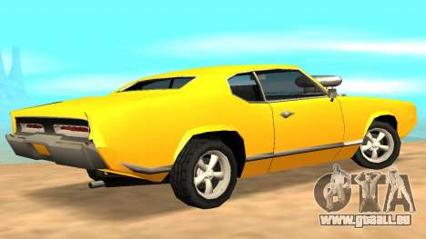 Sabre Charger pour GTA San Andreas moteur