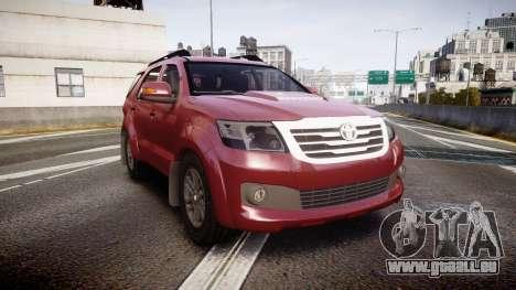 Toyota Hilux SW4 2015 pour GTA 4