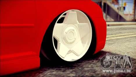 Volkswagen Golf R33 2015 pour GTA San Andreas sur la vue arrière gauche