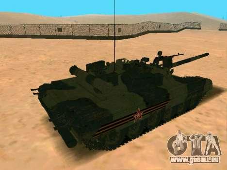 T-80U pour GTA San Andreas vue de droite