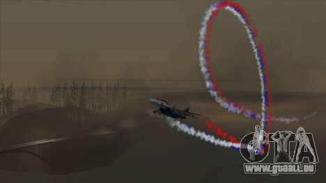 Le drapeau de la Russie pour les avions pour GTA San Andreas troisième écran